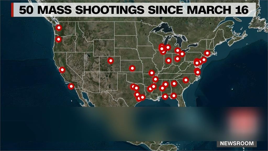 1個月50起! 美國才4月中已151起大型槍擊 擁槍3.93億支全球之冠 詭異現象「槍比人多」