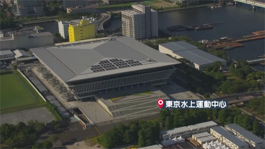 東京奧運倒數30天 空拍鏡頭鳥瞰場館
