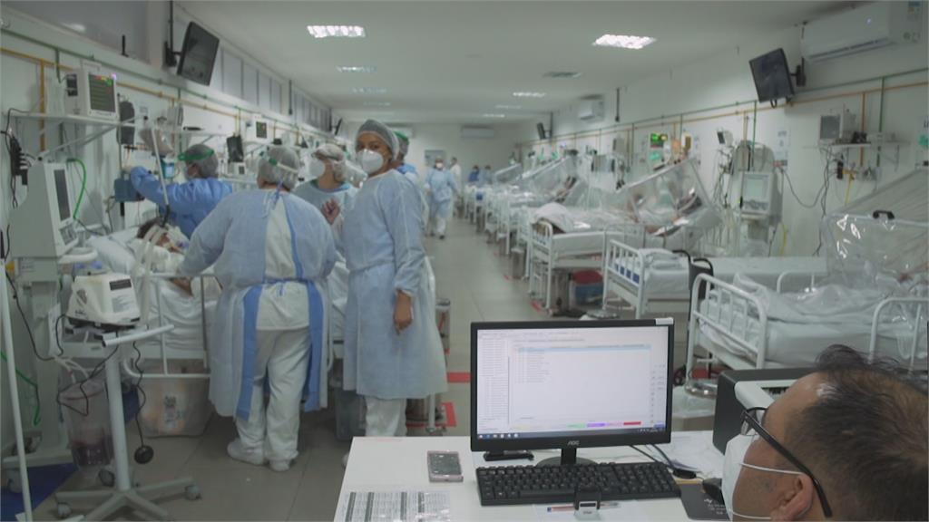 台灣出現首起巴西變種病毒P1 傳播力強