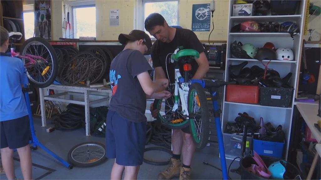 自行車職能修復計畫 建立青少年自信與社交生活 助問題學生擁一技之長