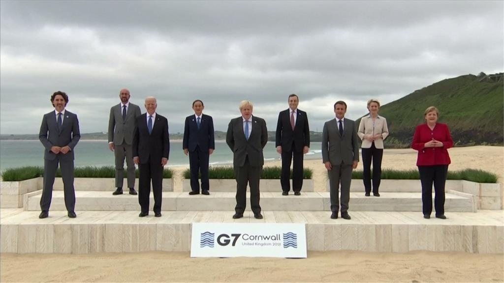 全球/拜登喊話團結抗中!G7領袖峰會各懷鬼胎?