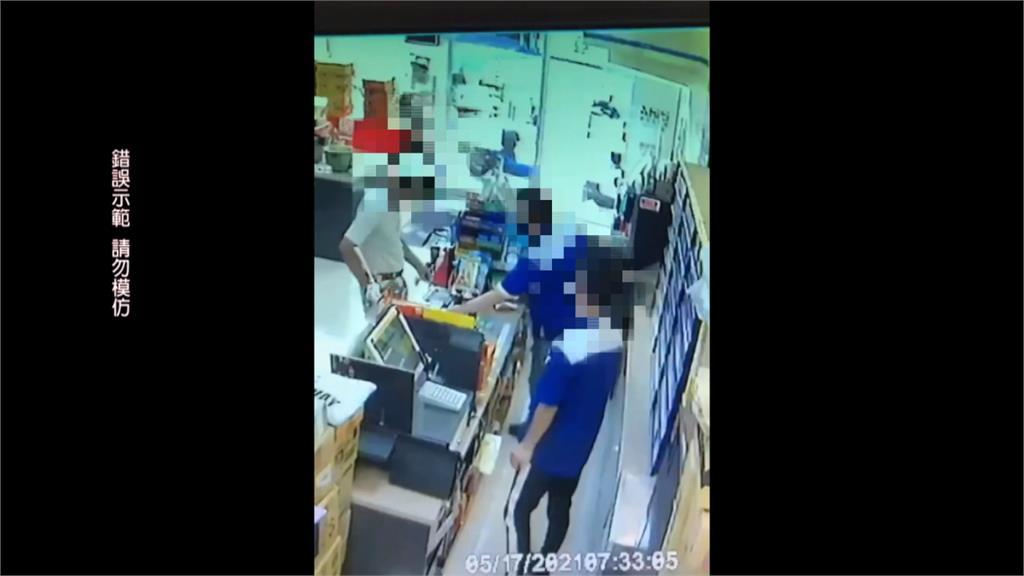 莽男進超商沒戴罩 店員想報警遭打到頭破血流