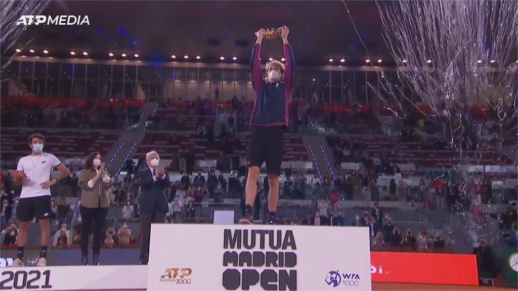 澤瑞夫逆轉封王 馬德里公開賽生涯第二冠
