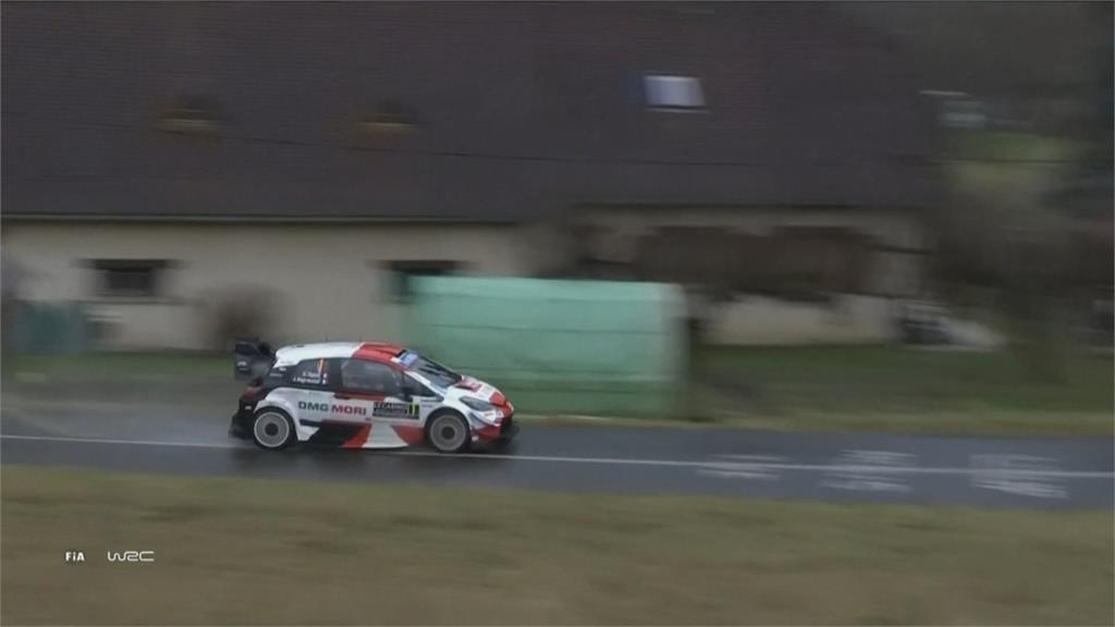 蒙地卡羅拉力賽開跑 芬蘭車手開賽就撞車翻覆