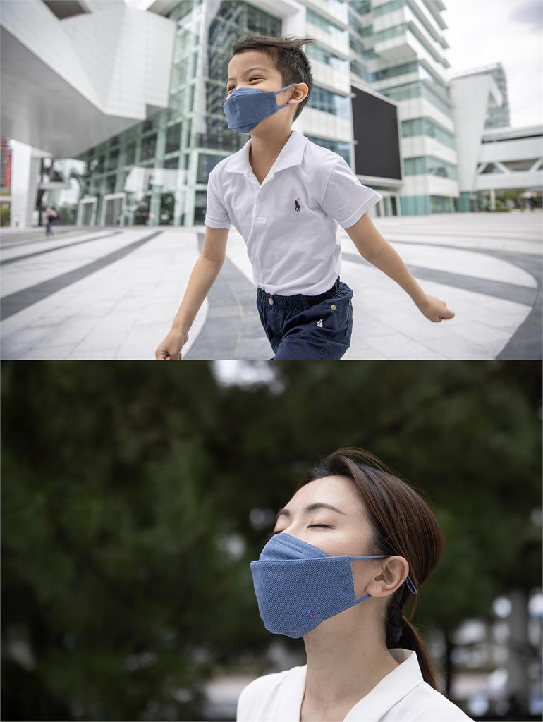 冷氣濾網也能運用在口罩上 透氣、環保兼具