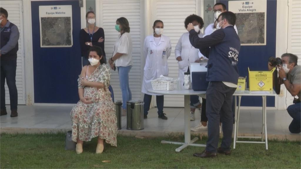 孕婦接種後死亡! 巴西聖保羅禁孕婦施打AZ