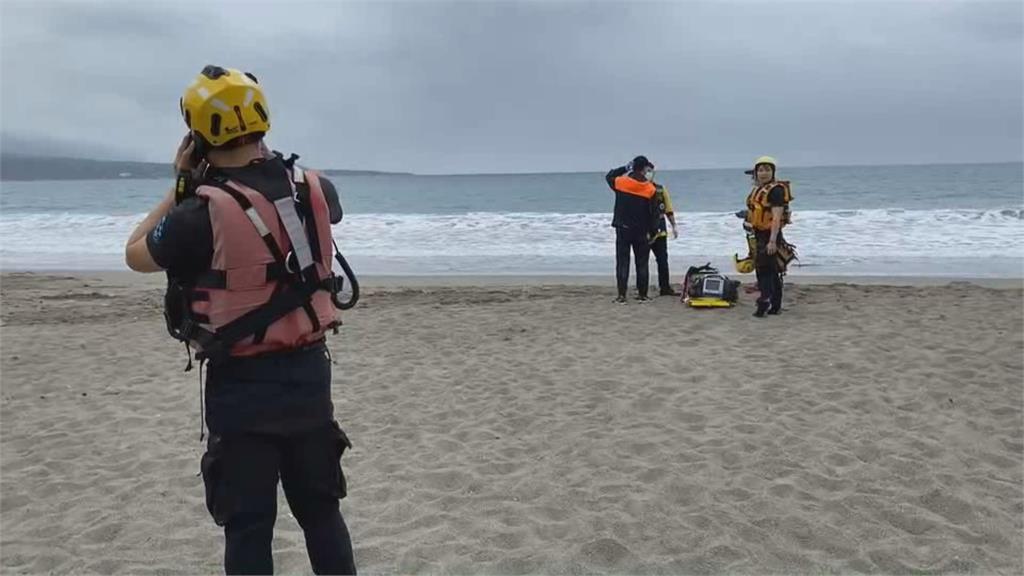 杉原海水浴場...暫時廢棄中 青少年為撿泳帽遭浪捲走