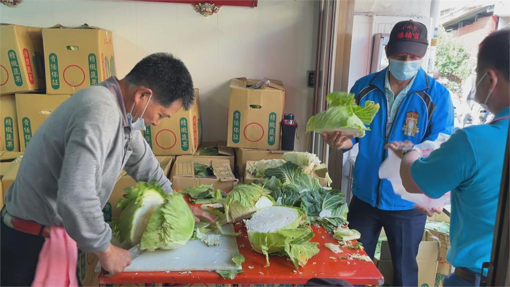 慶祝土地公生日!地方廟宇做公益訂購蔬果相挺辛苦農民
