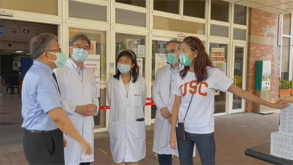 「救國女神」又來啦! 保護高風險療程醫護 賈永婕再捐146台PAPR呼吸器