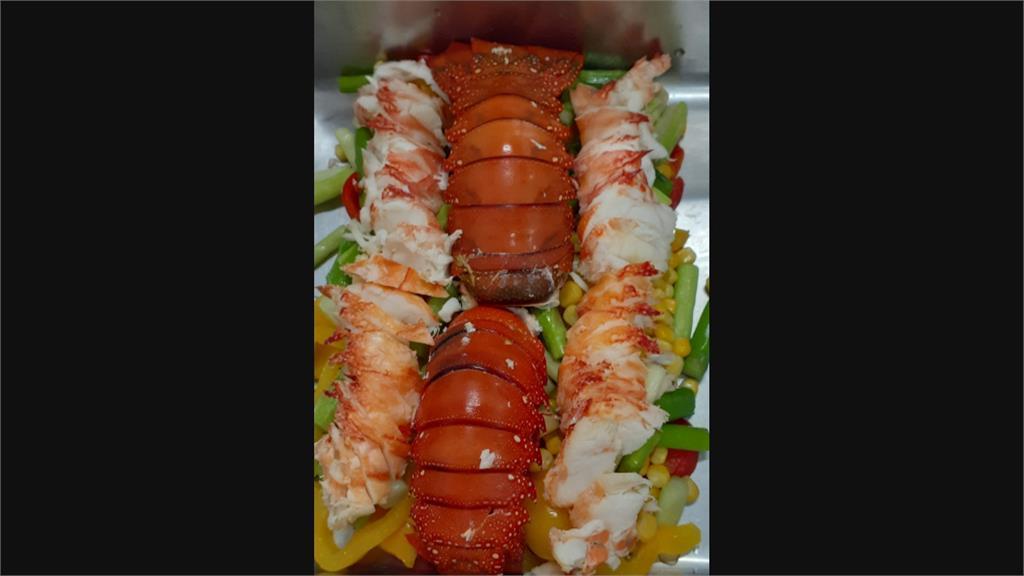 好羨慕... 南陽小學營養午餐 龍蝦上桌超狂!