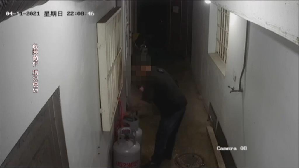 花蓮情侶暗夜吵架 醉男竟將店家瓦斯桶全打開