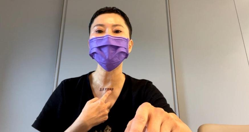 (獨家)詹雅雯左腦痿縮!搬回台北抗病魔 苦痛不斷跌倒就醫