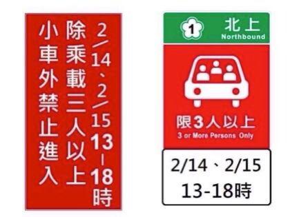 快新聞/春節國道管制看這邊! 部分路段高乘載、交流道口時段性封閉