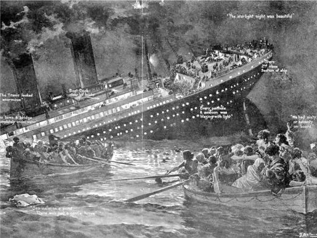 就是今天4/15!歷史上著名船隻鐵達尼號 撞冰山沉沒已滿「109年」