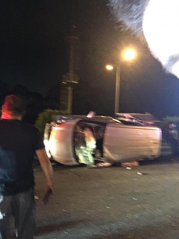 快新聞/國三北向90.3公里處3車追撞事故翻覆! 後方回堵近2公里