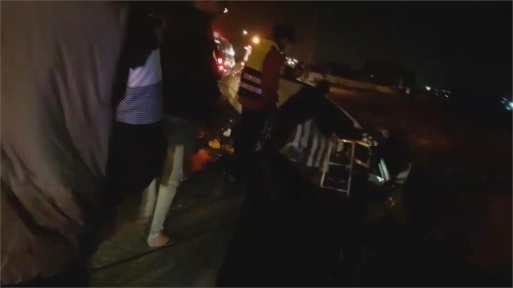 初五收假不平靜苗栗苑裡兩起車禍1死6傷