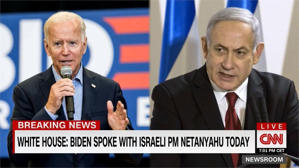 以飛彈炸毀迦薩媒體大樓 拜登與雙方領袖通話