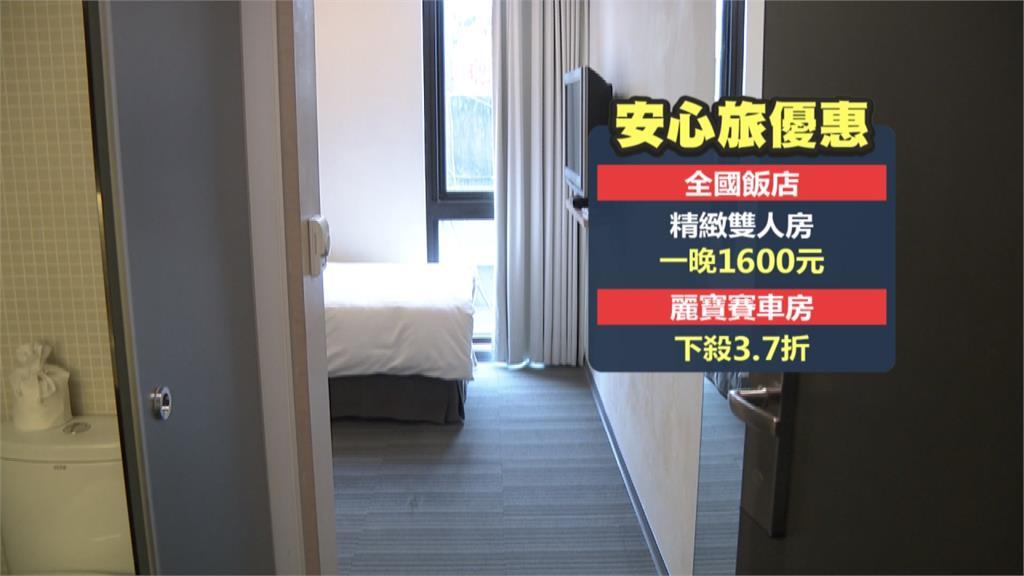 鼓勵居檢家屬住旅館 中市府一戶補助5千業者加碼推優惠 最低一晚下殺2.1折