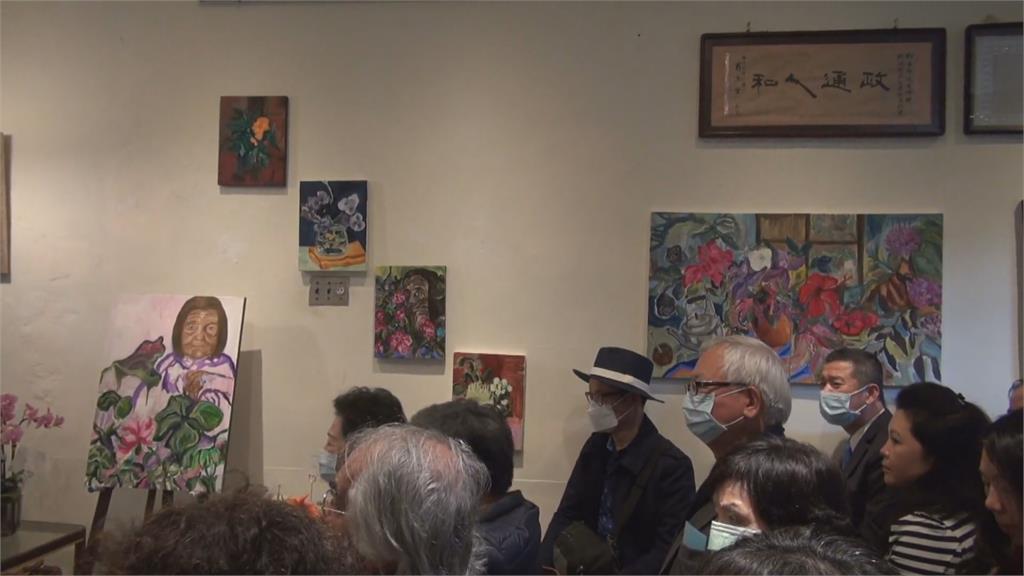 阿根廷新住民落腳宜蘭 辦「國際婦女節畫展」