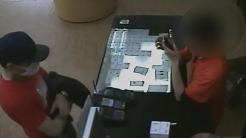 前科累累到處偷!賊潛入羽球館還變裝 偷走信用卡盜刷