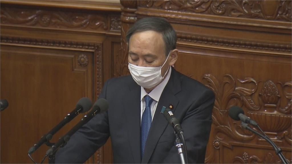 日相菅義偉掛保證 盡快控制疫情辦好東奧