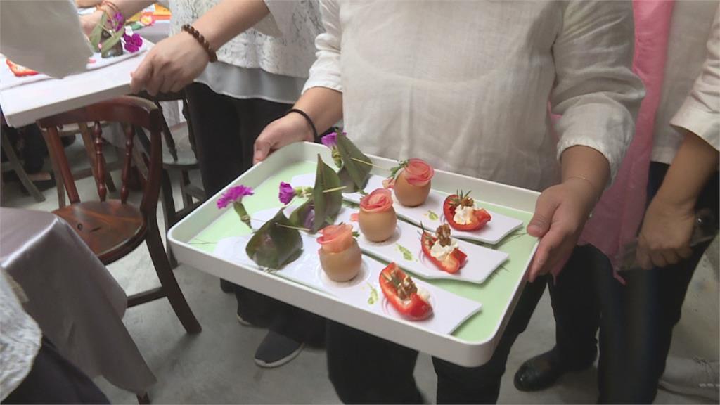 新住民媽媽歡慶母親節 體驗台灣傳統粽子文化
