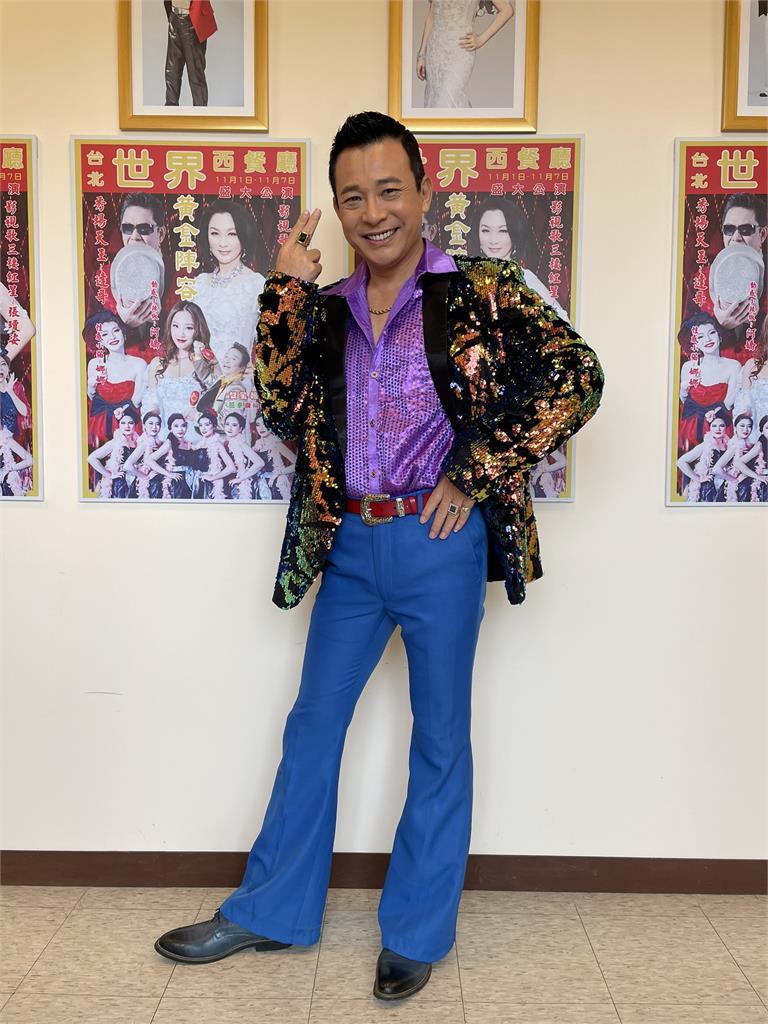 胡鴻達為《黃金歲月》角色添購浮誇戲服!連珍藏的鑽戒也帶到片場