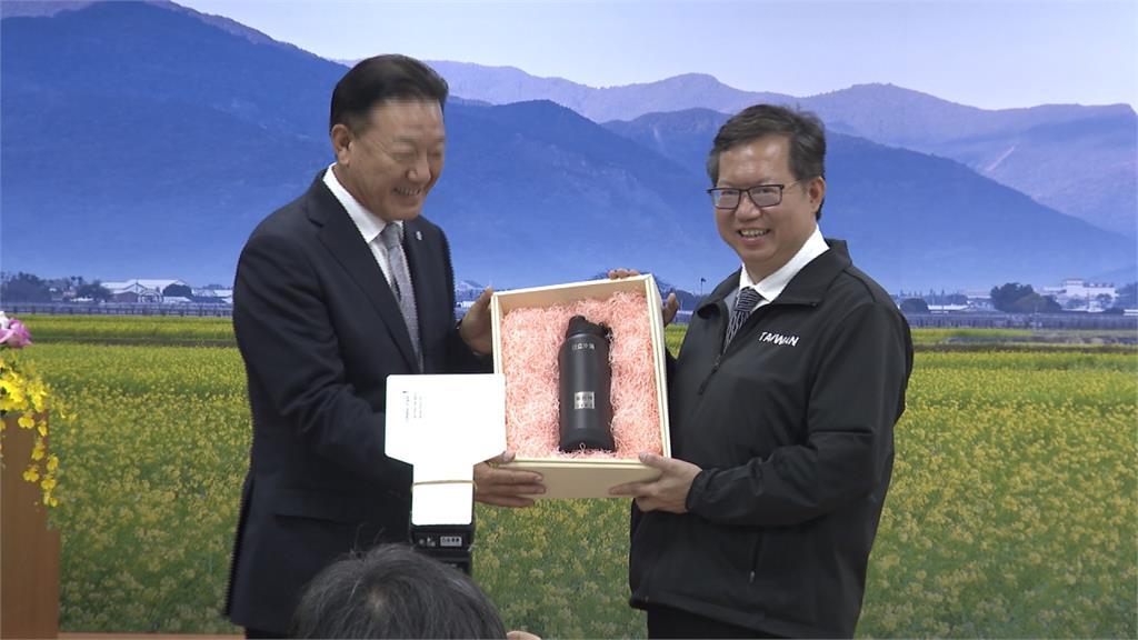 鄭文燦參訪日立冷氣 感謝外商深耕台灣