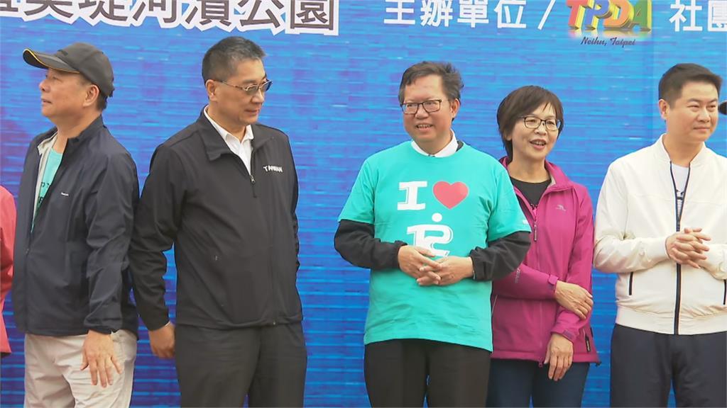 台北科技公益路跑眾星雲集!高嘉瑜開金嗓祝黃珊珊 與陳嘉昌互尬「煎熬」
