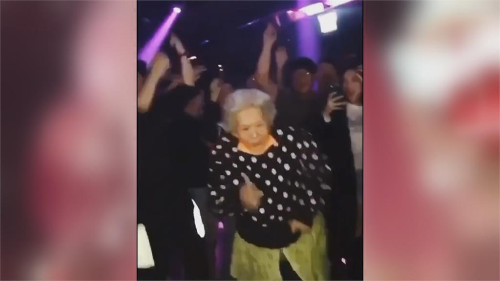 信義區夜店紅人 68歲嬤一週五天通宵熱舞