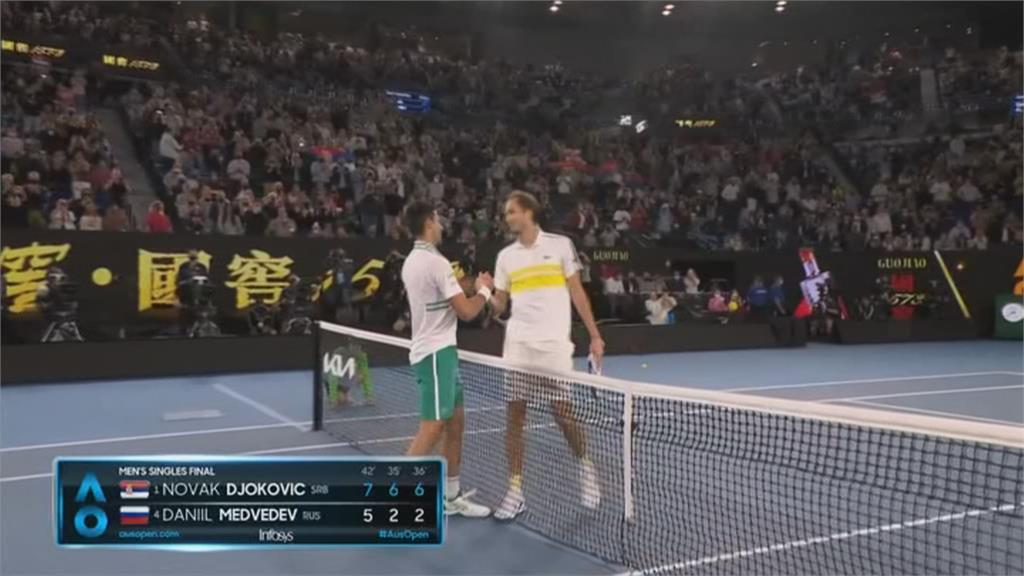 分獎金給其他球員 喬科維奇澳網奪冠少百萬美元