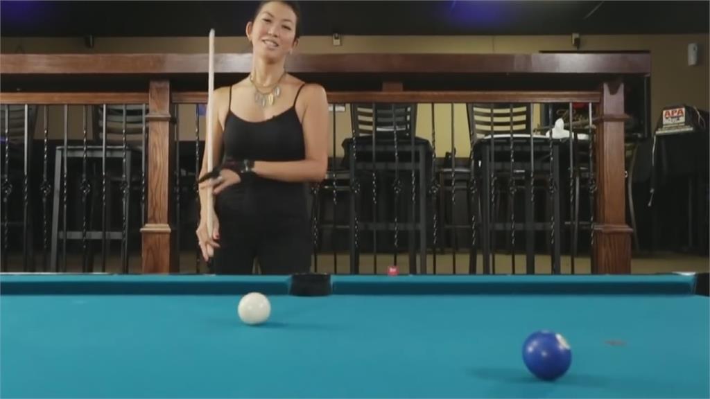 花式撞球美豔黑寡婦 珍娜李罹癌剩不到一年壽命
