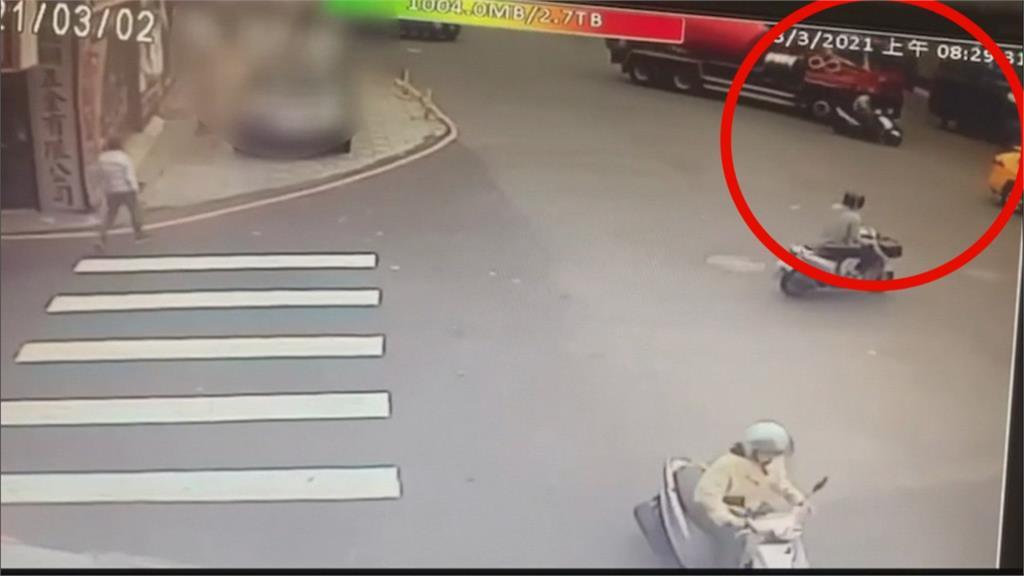 高雄消防小隊長擦撞水泥車 送醫傷重不治