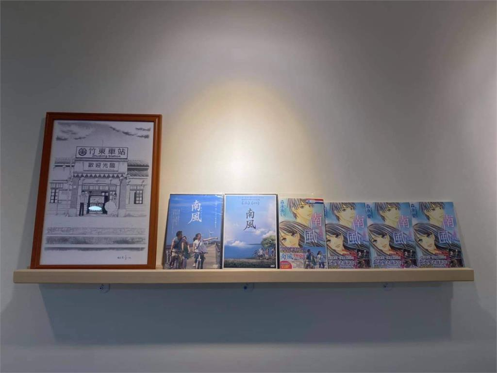 紀念日本少女漫畫家森永愛 中華大學實習旅館漫畫房昨亮相