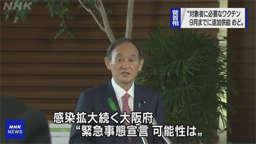 東京、大阪籲請中央宣布  須再進入緊急狀態!重症數比病床多  使用率逾110%破表!
