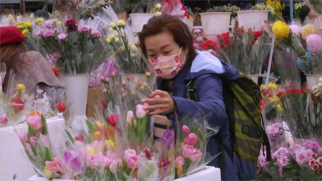 新年喜氣全變調 香港年貨街只剩賣花業者