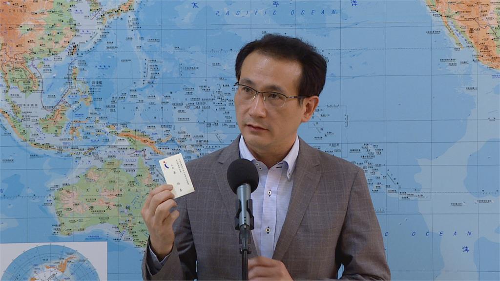 台日關係再升溫! 駐台代表泉裕泰名片頭銜為「大使」