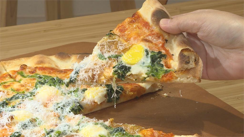 煙燻豆皮取代培根 「佛羅提斯披薩」變身蔬食