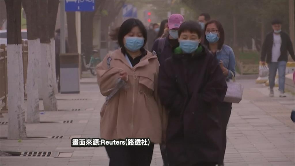 黃沙漫天! 北京沙塵暴 達第六級汙染等級