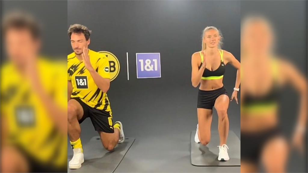 全球最性感運動員 德甲聘為訓練員