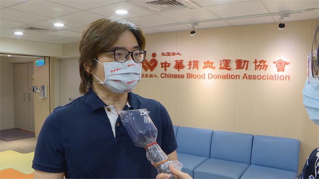 捐血車消毒做得最到位!  全台血量庫存只有5.1天 A型與O型血最缺