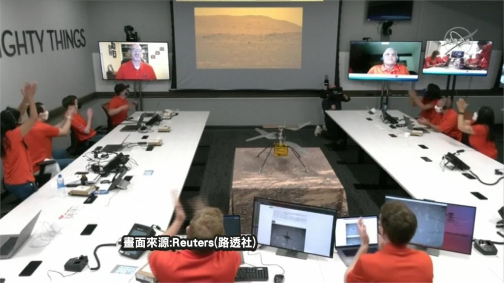 人類里程碑!NASA創新號完成火星飛行任務