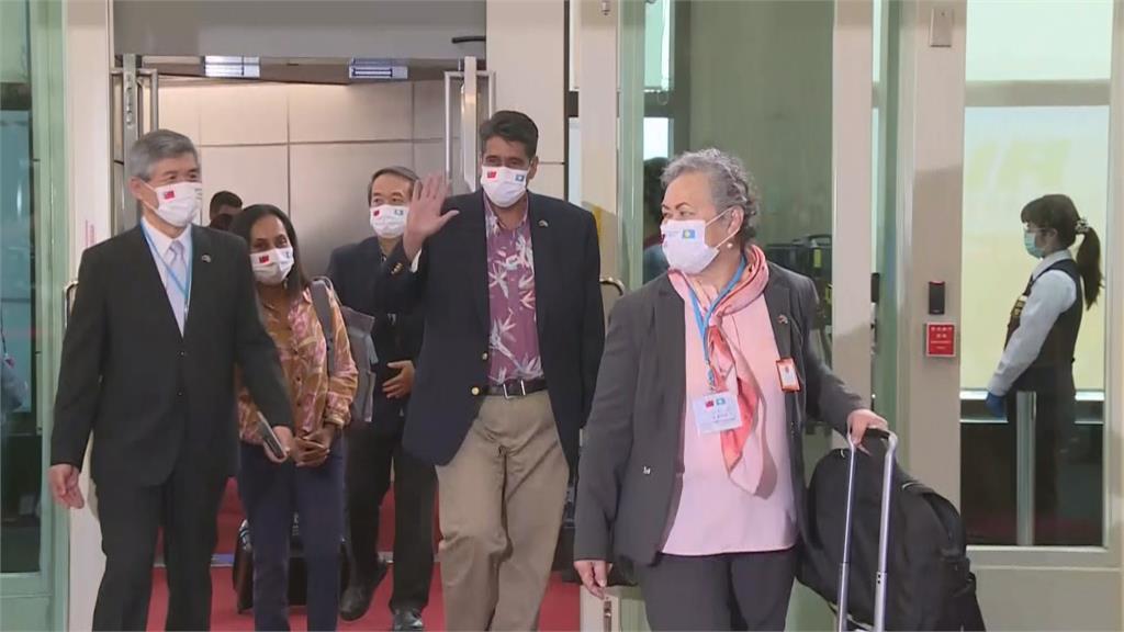 快新聞/帛琉總統伉儷來了! 惠恕仁:這次的旅遊泡泡是絕無僅有的首例