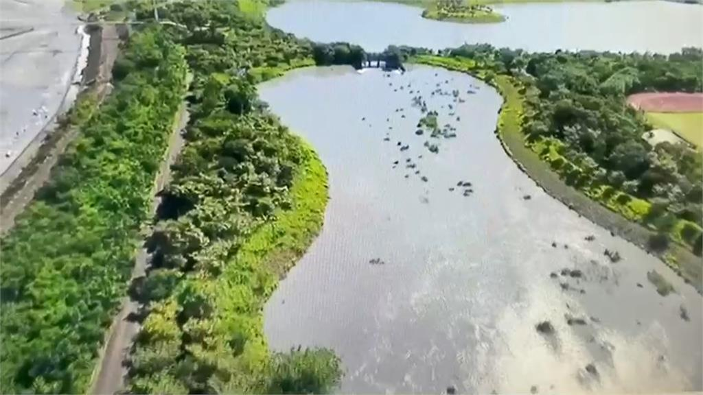 西台灣唯一水情綠燈 屏東人工湖堪稱「水銀行」