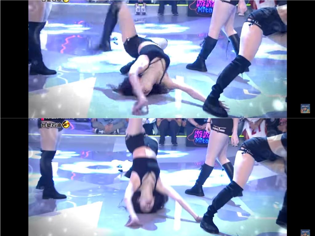 桃猿李恩菲性感熱舞重摔畫面曝 後空翻「脖子後折半圈」現場眾人驚叫!