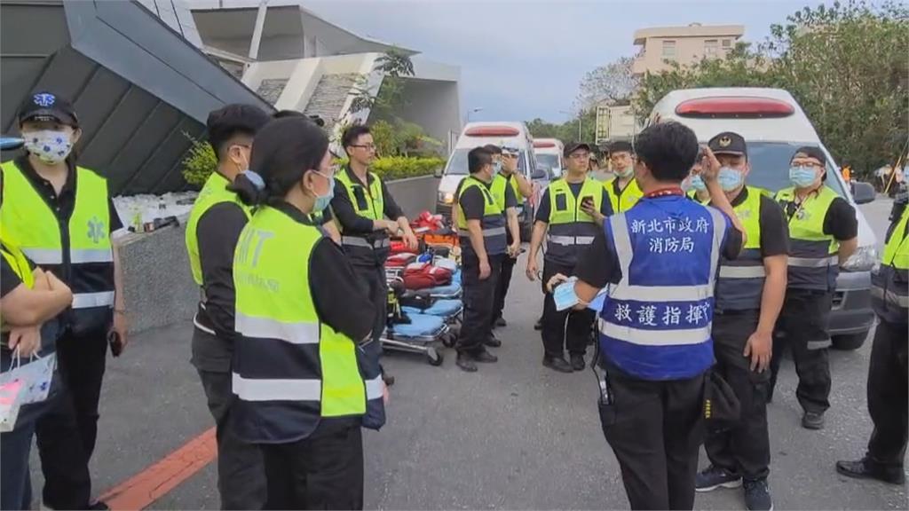 林口竹林山寺 捐款千萬與消防車 衛福部賑災專戶 捐款逾4億續增加