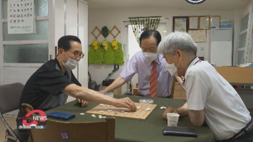 南韓重開老人活動中心 至少打過一劑疫苗長者開心相聚