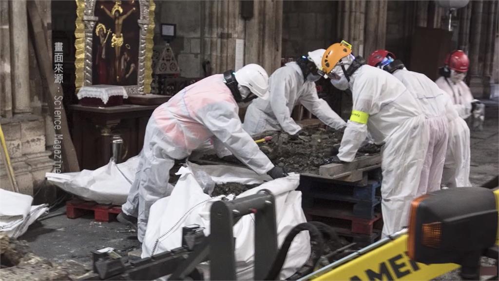 全球/氣候與疫情攪局 巴黎聖母院重建之路漫漫