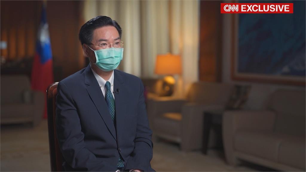 吳釗燮接受CNN專訪 坦言「台灣必須對武統做好準備」