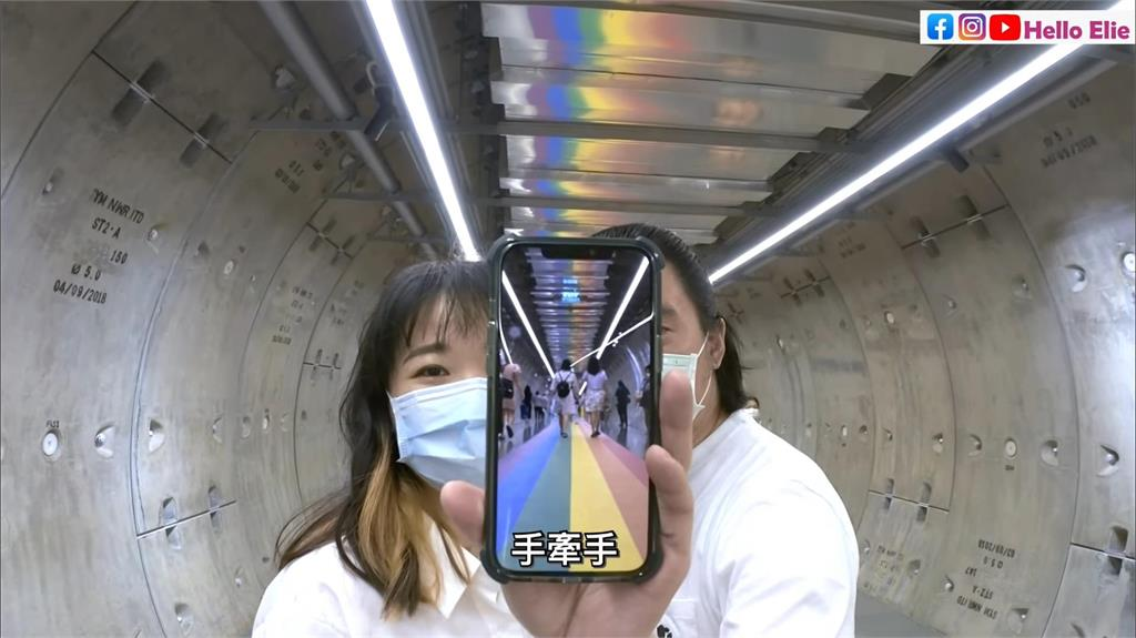 性別友善!曼谷打造「彩虹百米隧道」 網友拍一畫面讚:民風真的很開放